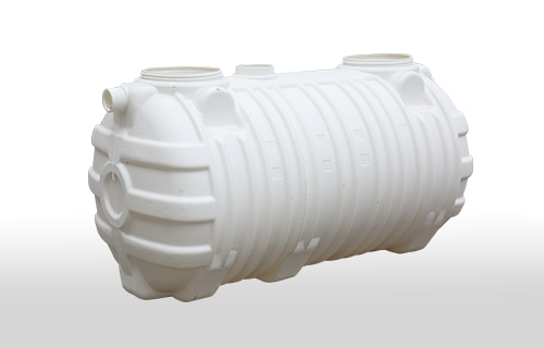 1.5m harmless integrated three-layer blow molding septic tank