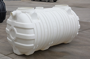 The new environmentally friendly  harmless plastic septic tank is mainly composed of three parts