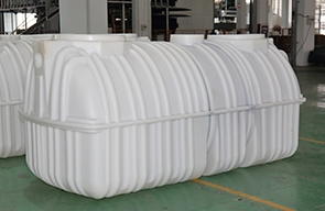 Advantages of integrated plastic septic tank: