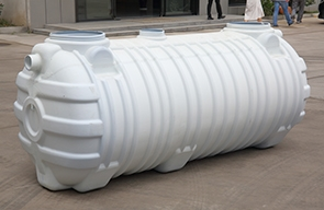 Design principle of plastic three-format manure tank