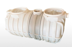 Main features of three-in-one rotomolding septic tank