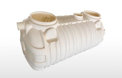 1.0m harmless integrated three-layer blow molding septic tank